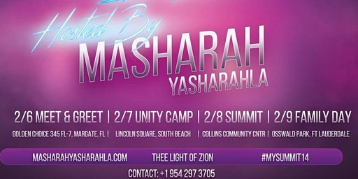 14th Hebrew Summit Hosted By Masharah Yasharahla
