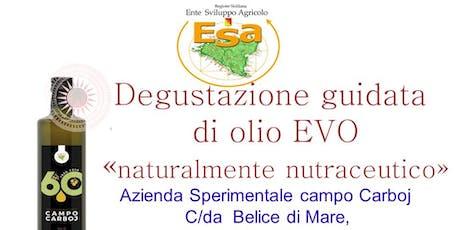 """Degustazione Olio EVO"""" naturalmente nutraceutico"""" biglietti"""