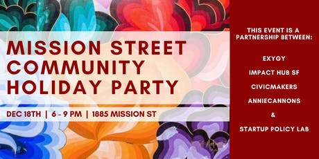 Mission Street Community Holiday Party tickets