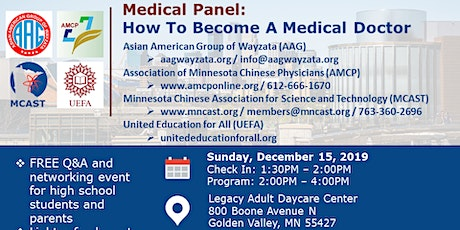 Medical Panel: How To Become A Medical Doctor tickets