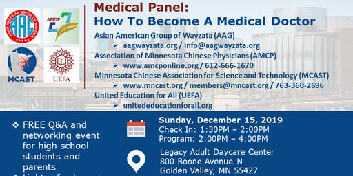 Medical Panel: How To Become A Medical Doctor