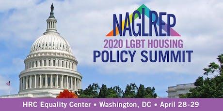 2020 NAGLREP LGBT Housing Policy Summit tickets