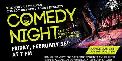 Comedy Night at the Woodchuck Cider House