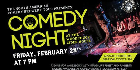 Comedy Night at the Woodchuck Cider House tickets