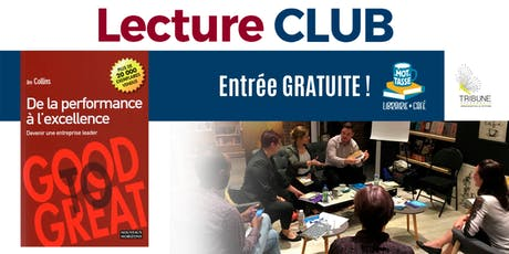 LectureCLUB : De la performance à l'excellence billets