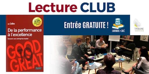 LectureCLUB : De la performance à l'excellence