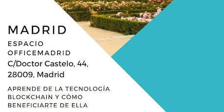 Evento Blockchain Madrid tickets