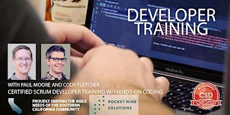 Certified Scrum Developer Training-Tech Practices Track-CSD|Orange County|Dec 2019 tickets