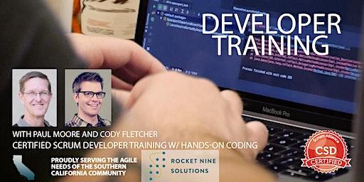 Certified Scrum Developer Training-Tech Practices Track-CSD|Orange County|Dec 2019