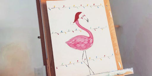 New Festive Flamingo Paint Night