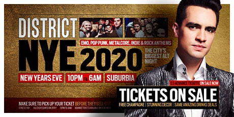 DISTRICT Southampton // New Years Eve 2020 // Open til 6am @ Suburbia tickets