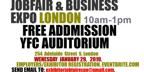 JOB FAIR EXPO EMPLOYERS/EXHIBITOR tickets