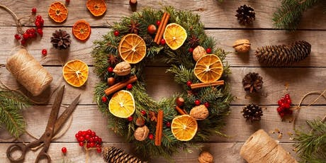 Christmas Wreath Workshop - Learn to make your own Christmas door wreath tickets