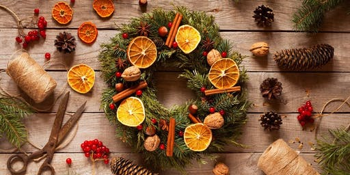 Christmas Wreath Workshop - Learn to make your own Christmas door wreath