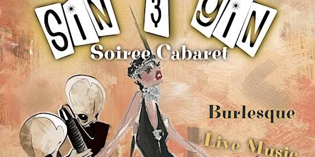 Sin & Gin Soiree Cabaret - Star Light,Star Bright, Star Wars! tickets