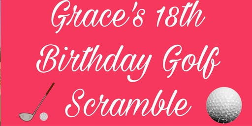 Grace's 18Th Golf Scramble