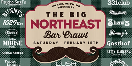 The Big Northeast Bar Crawl - 3rd Annual tickets