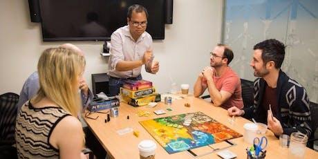 Conferencia: Los juegos de mesa en el trabjo entradas