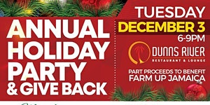 Caribbean Business Connections Holiday Party & Farm Up...