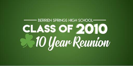 Berrien Springs High School Class of 2010 - 10 Year Reunion