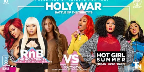 Holy War: Battle of the Trinities Tribute Night tickets