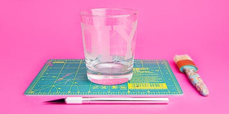 Learn The Art of Glass Etching tickets