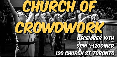 Church of Crowdwork - LIVE interactive COMEDY SHOW tickets