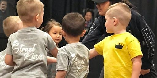 Toddlers Hip Hop Dance Class (10 weeks) -3-4.5 years old