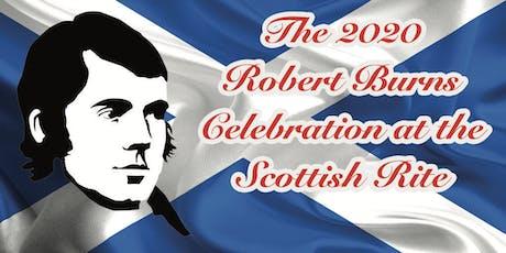 2020 Robert Burns Celebration at the Scottish Rite tickets