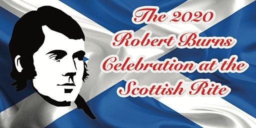 2020 Robert Burns Celebration at the Scottish Rite