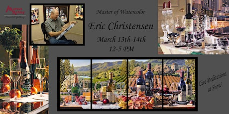 Tahoe Second Saturday Artwalk with Eric Christensen March 13th and 14th 12-5 PM tickets