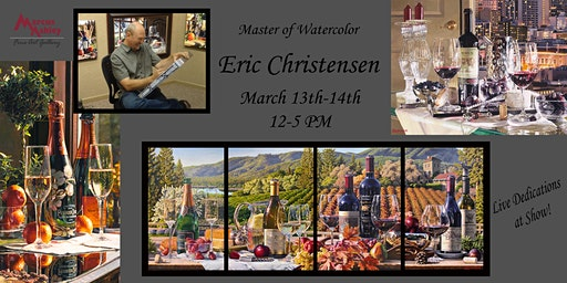 Tahoe Second Saturday Artwalk with Eric Christensen March 13th and 14th 12-5 PM