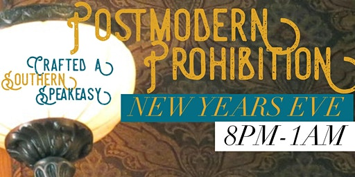 Postmodern Prohibition New Years Eve at Crafted