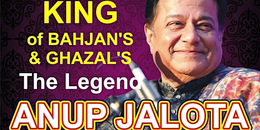 King of Geet, Bahjans & Ghazals ANUP JALOTA Live in Leicester