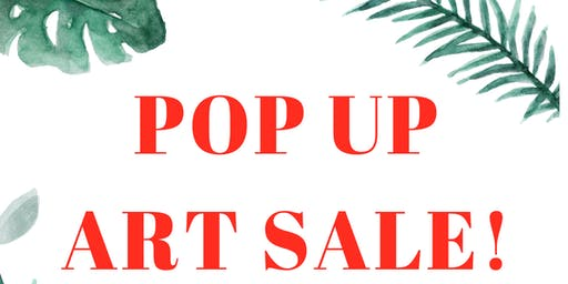 Pop up Art Show and Sale