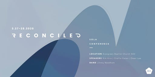 """SOLA CONFERENCE 2020 """"Reconciled"""""""