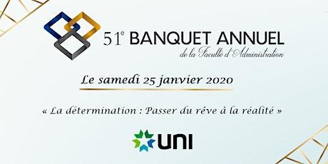 51e Banquet de la Faculté d'administration de l'Université de Moncton tickets