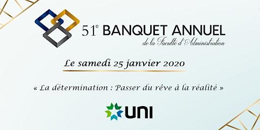 51e Banquet de la Faculté d'administration de l'Université de Moncton