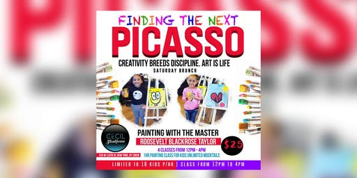 """""""Finding The Next PICASSO"""" PAINTING CLASS FOR KIDS"""