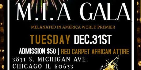 1st Annual M.I.A Gala Red Carpet New Years Eve tickets