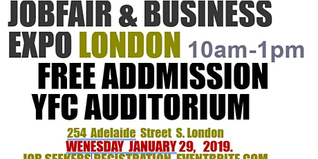 JOB FAIR EXPO LONDON(JOB SEEKERS REGISTRATION) tickets