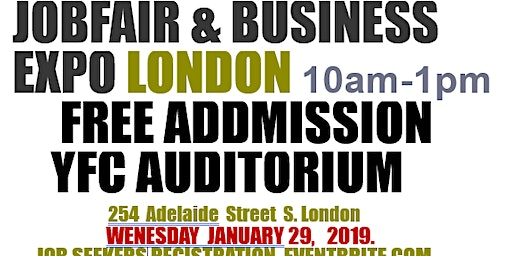 JOB FAIR EXPO LONDON(JOB SEEKERS REGISTRATION)