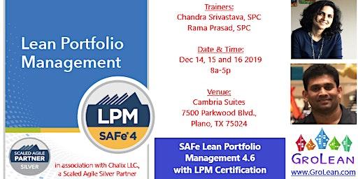 SAFe Lean Portfolio Management 4.6
