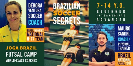 JOGA BRAZIL FUTSAL CAMP - Burlingamer tickets