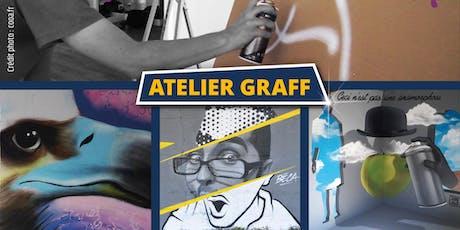 Atelier graff Calligraff mars 2020 billets