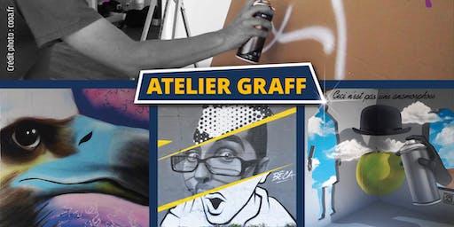 Atelier graff Calligraff mars 2020