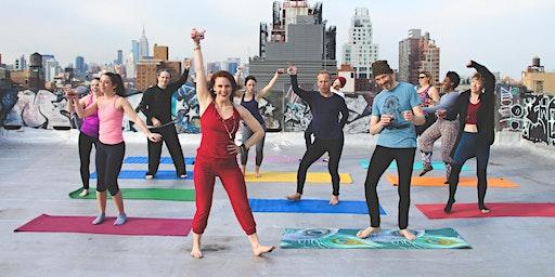 Drunk Yoga® NYC Presents: Spirit(s) Yoga at Moxy Times Square