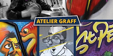Atelier graff Calligraff avril 2020 tickets