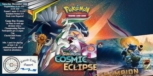 Pokemon Sun & Moon Cosmic Eclipse League Cup