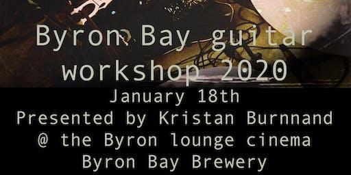 Byron bay Guitar workshop 2020